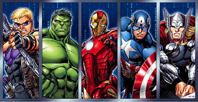 Om superhjältar